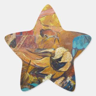 Cliff Dwellers Star Sticker