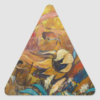 Cliff Dwellers Triangle Sticker
