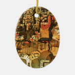 Cliff dwelling in the sky ornament