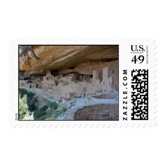 Cliff Dwellings Stamp