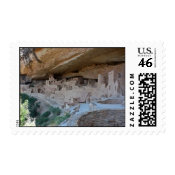 Cliff Dwellings Stamp stamp