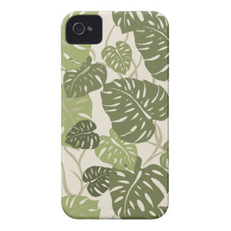 Cliff Hanger Hawaiian Leaf  iPhone 4 Cases