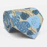 Cliff Hanger Hawaiian Monstera Leaf 2-sidedPrint Tie