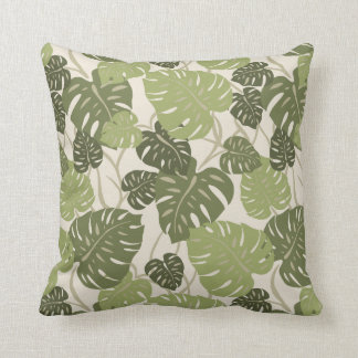 Cliff Hanger Hawaiian Square Decorative Pillows