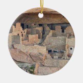 Cliff Homes Ceramic Ornament