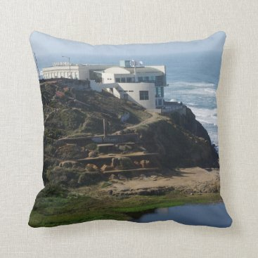 everydaylifesf Cliff House - San Francisco, CA Pillow
