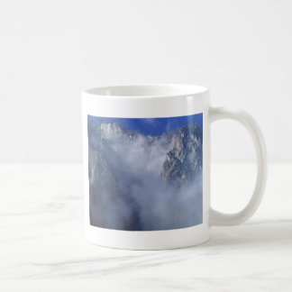 Cliff In The Clouds Coffee Mug