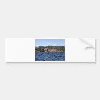 cliff lake superior bumper sticker
