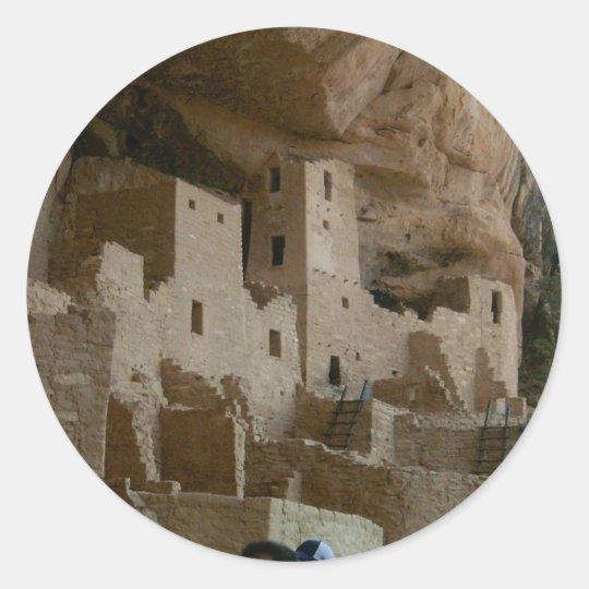Cliff Palace Classic Round Sticker
