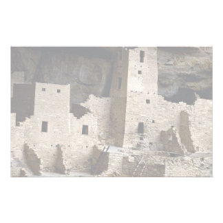 Cliff Palace, Mesa Verde, Colorado, USA Stationery Paper