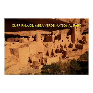 Cliff Palace, Mesa Verde National Park Poster
