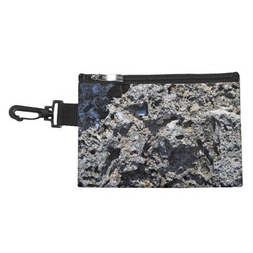 Cliff Rock Texture Accessories Bag
