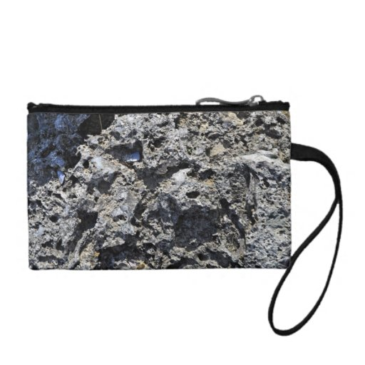 Cliff Rock Texture Coin Wallets