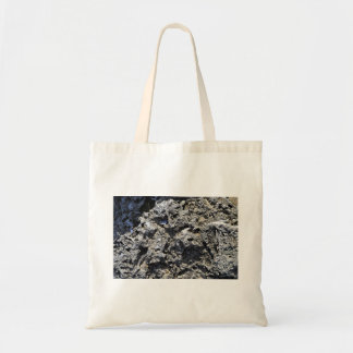 Cliff Rock Texture Tote Bags