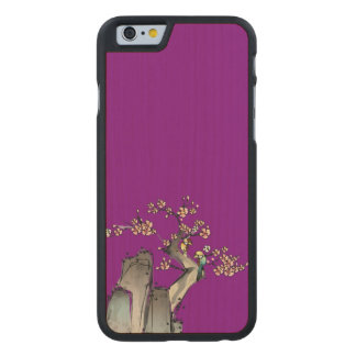Cliff Sketch Carved® Maple iPhone 6 Slim Case