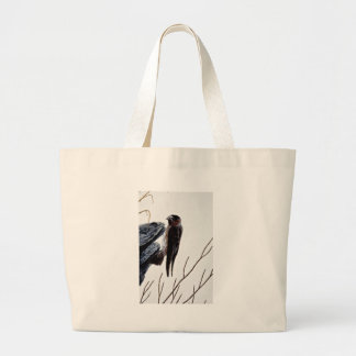 Cliff swallow tote bags