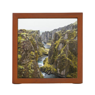 Cliff Themed, Incredible Mossy Cliff Flanking Narr Pencil Holder