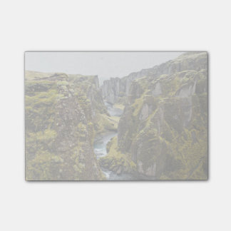 Cliff Themed, Incredible Mossy Cliff Flanking Narr Post-it® Notes