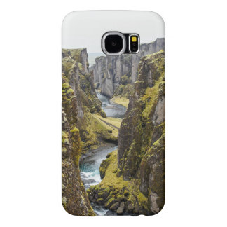 Cliff Themed, Incredible Mossy Cliff Flanking Narr Samsung Galaxy S6 Cases
