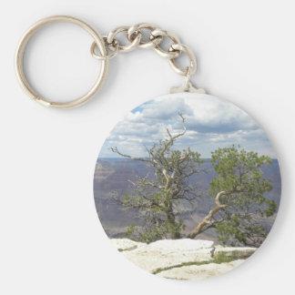 Cliff tree keychain