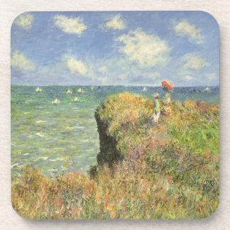Cliff Walk at Pourville by Claude Monet Coaster