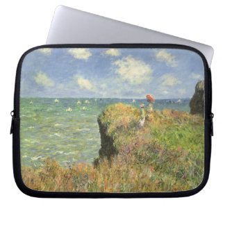 Cliff Walk at Pourville by Claude Monet Computer Sleeve
