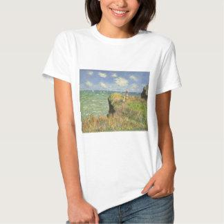 Cliff Walk at Pourville by Claude Monet T-Shirt