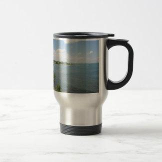 Cliff Walk Newport Rhode Island 15 Oz Stainless Steel Travel Mug
