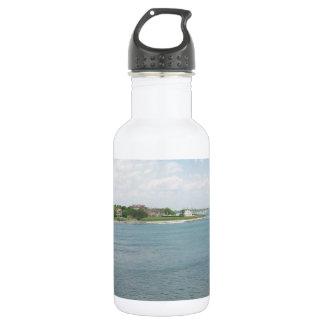 Cliff Walk Newport Rhode Island 18oz Water Bottle