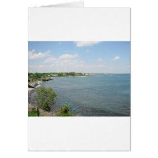 Cliff Walk Newport Rhode Island Card