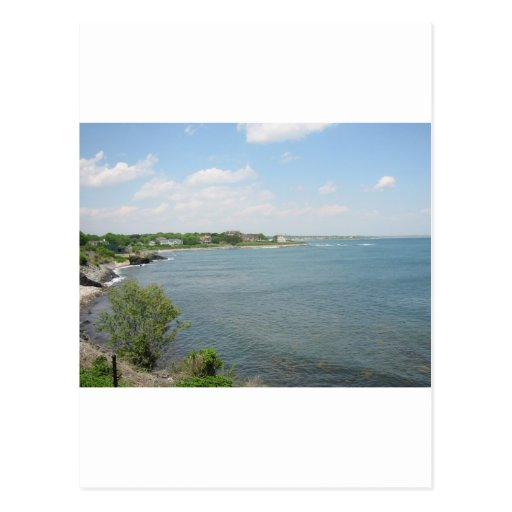Cliff Walk Newport Rhode Island Post Card
