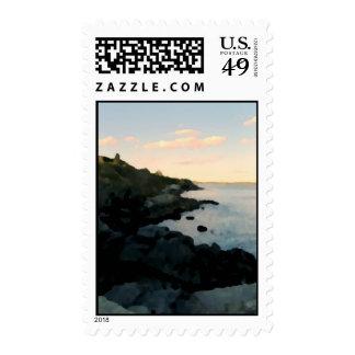 Cliff Walk, Newport, RI Postage Stamp