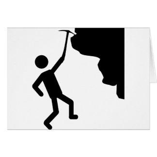 cliffhanger freeclimber climber climbing icon card
