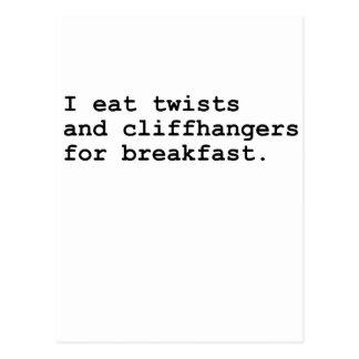 Cliffhangers Postcard
