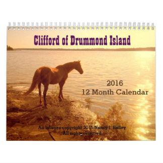 """""""Clifford del calendario de la isla"""" 2016 de"""