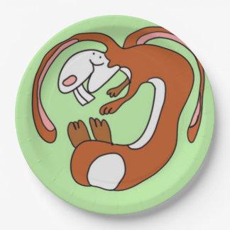 Clifford el conejito plato de papel 22,86 cm