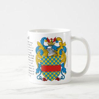Clifford el origen el significado y el escudo MU Tazas De Café