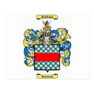 clifford (england) postcard