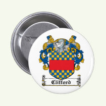 Clifford Family Crest Button