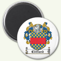 Clifford Family Crest Magnet