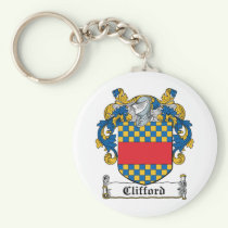 Clifford Family Crest Keychain