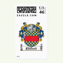 Clifford Family Crest Stamps