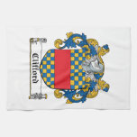 Clifford Family Crest Towels