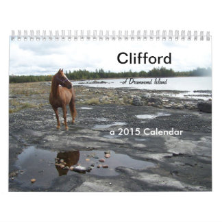 Clifford the Morgan Horse Calendar