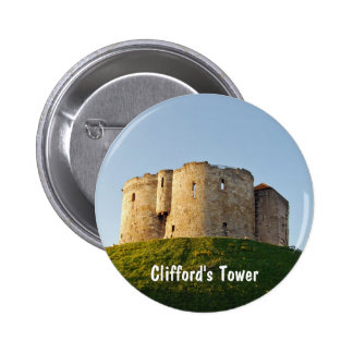 Clifford's Tower Buttons
