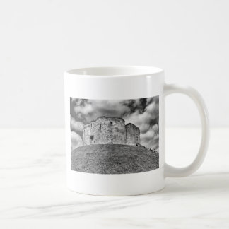 Clifford's Tower in York  historical building Coffee Mug