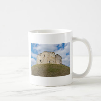 Clifford's Tower in York  historical building. Coffee Mug