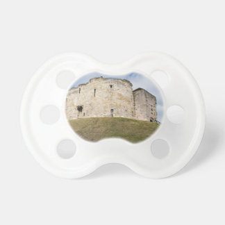 Clifford's Tower in York  historical building. Pacifier