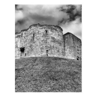 Clifford's Tower in York  historical building Postcard
