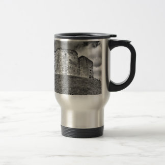Clifford's Tower in York  historical building Travel Mug